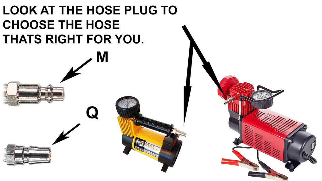 choose hose plug style