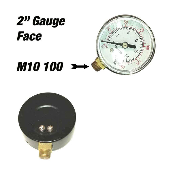 replacement gauge face attachment