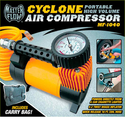 Tire Inflator,  MF-1040 Cyclone, 15AMP, 2200 Cu In