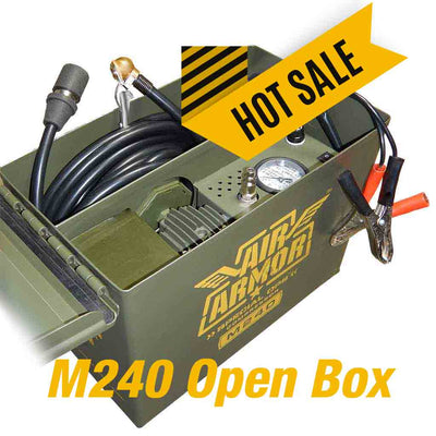 air armor m240 green air compressor open box sale