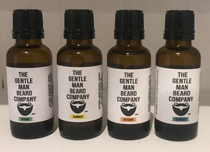 Four Seasons - 4 pack of 30ml Beard Oil