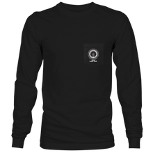 Load image into Gallery viewer, Black Long Sleeve Pocket T-Shirt