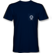 Load image into Gallery viewer, Navy Short Sleeve Pocket T-Shirt