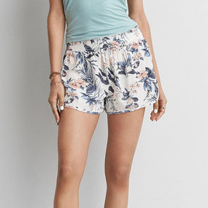 Bangor High Waist Printed Shorts
