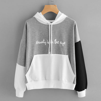 "Bangor ""Beauty Is In The Eye"" Grey Hoodie"