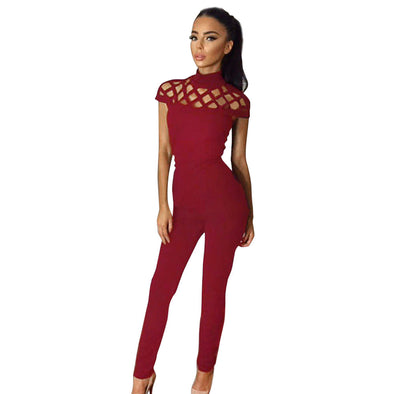 Bangor Choker High Neck Jumpsuit