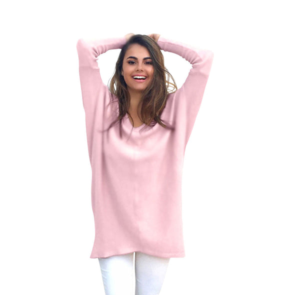 Bangor Casual Baggy V-Neck Sweater