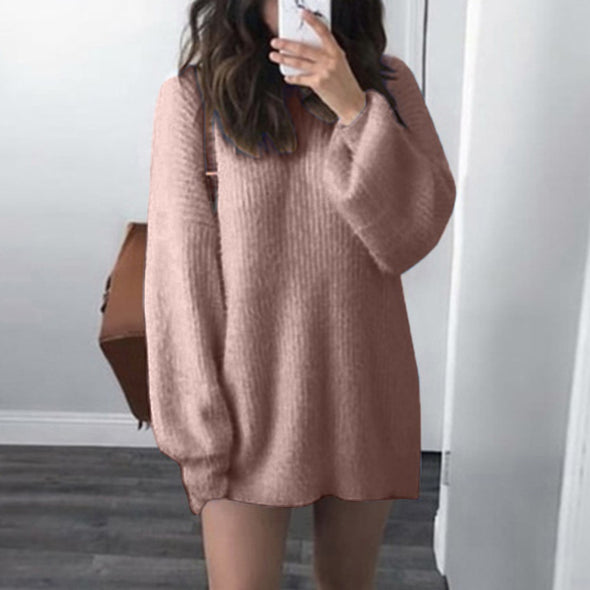 Bangor O-Neck Loose Knitted Sweater