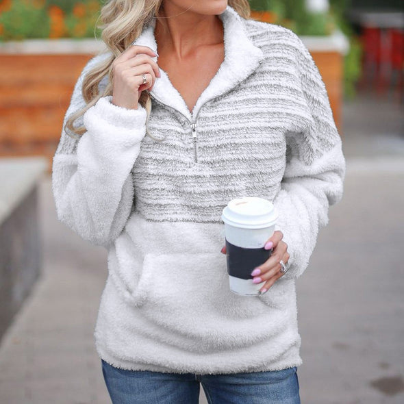 Bangor Velvet Zipper Sweater