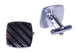 Dual Stripes Cuff Links Set