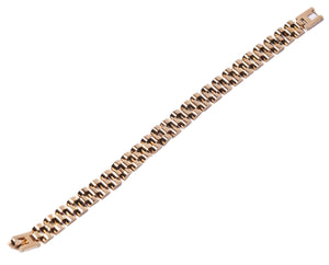 Gold Plated Wrist Chain - Small Links