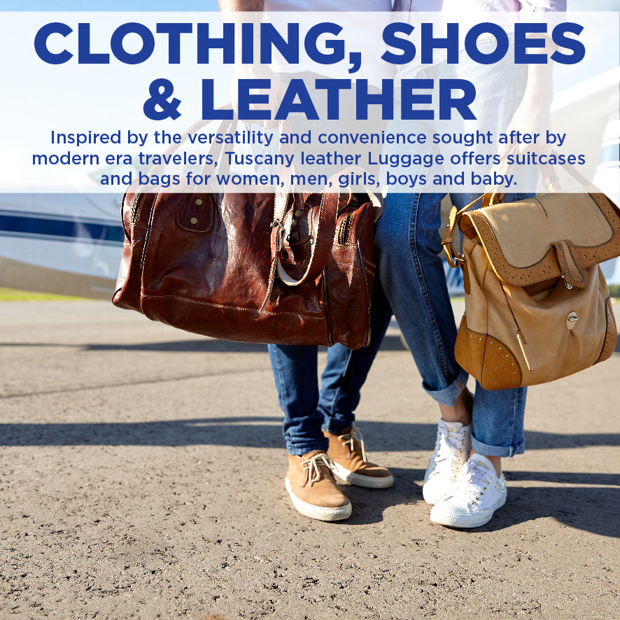 Clothing, Shoes & Leather