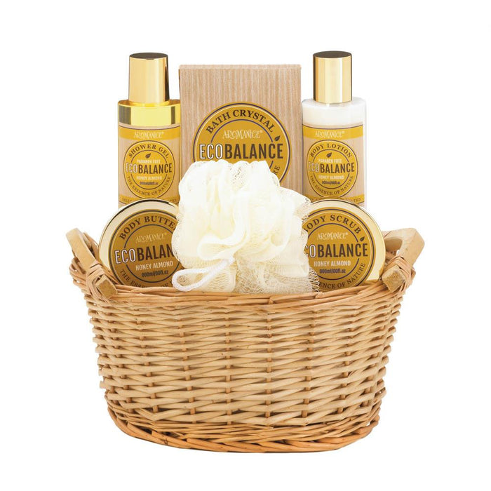 Gift Sets For Her, Makeup New Home Spa Basket For Gifts (honey Almond)