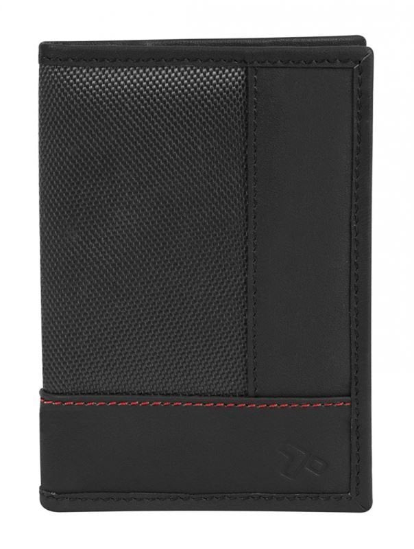 Passport Wallet Case, Safe Leather Polyester Card Holder Storage Id Case