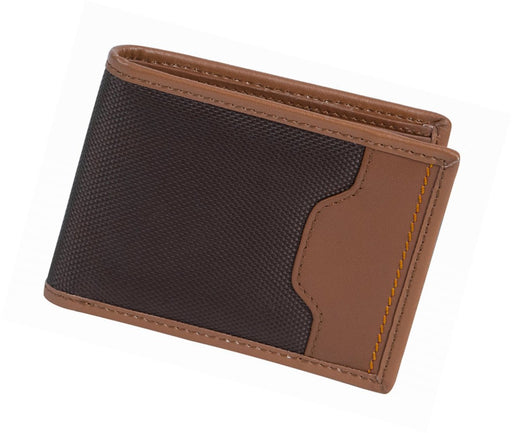 Id Wallets For Men, Polyester Leather Safe Bill Card Slots Mens Id Card Wallet