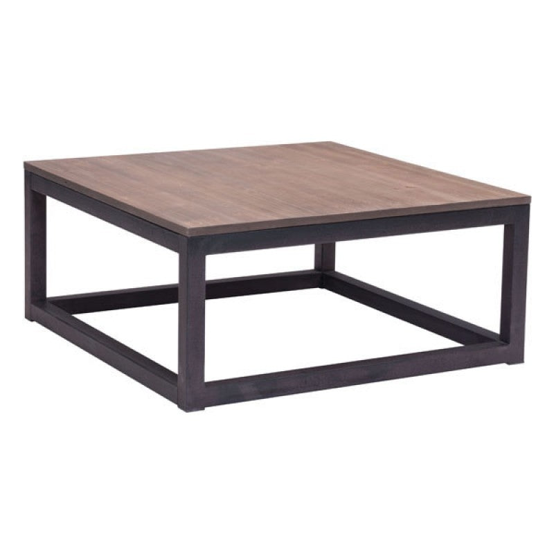 Square Coffee Table Distressed Natural Rectangular Rustic Wood Coffee Table