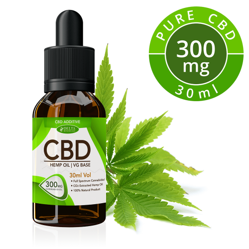 CBD Vape Oil | 300mg | Zero THC