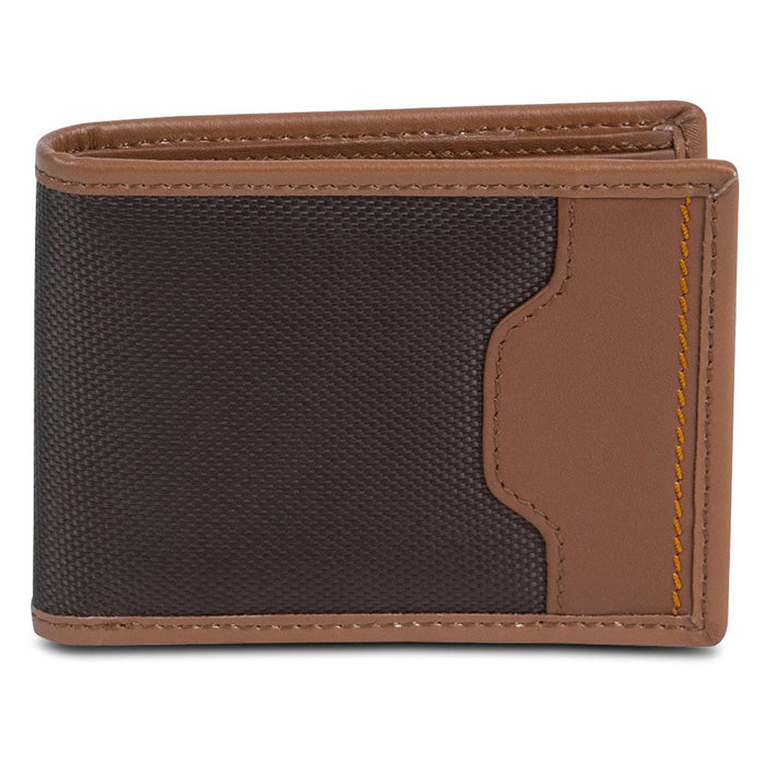 Billfold Wallet, Hack-proof Accent Safe Id Rfid Blocking Wallets Billfold, Brown
