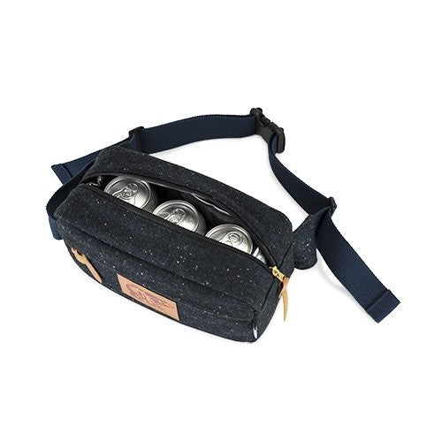 Man Fanny Pack, Insulated Tailgating For Women Men Fanny Packs With Pockets (Sold by Case, Pack of 6)