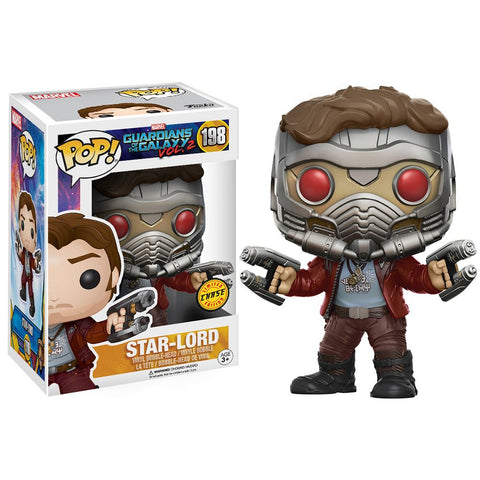 CHASE STAR-LORD-Guardians Of The Galaxy 2 Funko PoP!
