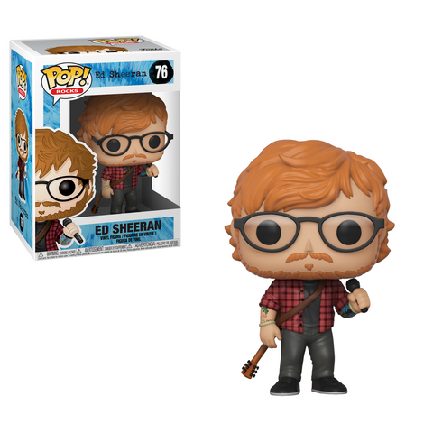 ED SHEERAN Rocks Funko PoP!