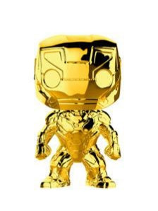 GOLD CHROME-IRON MAN-Marvel Studios 10th Anniversary Funko PoP!