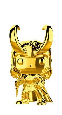 GOLD CHROME-LOKI-Marvel Studios 10th Anniversary Funko PoP!