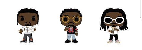 PoP! Rocks: Migos- Bundle (Set Of 3)