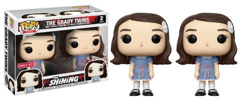 TARGET EXCLUSIVE-THE GRADY TWINS-The Shining Funko PoP! 2 Pack