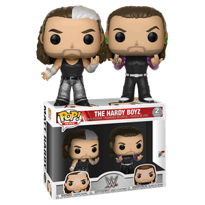 HARDY BOYZ-WWE Funko PoP! 2 Pack