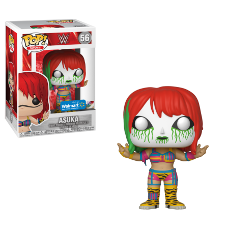 WALMART EXCLUSIVE-ASUKA-WWE funko PoP!