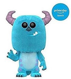 AMAZON EXCLUSIVE-FLOCKED SULLY-Monsters Inc. Funko PoP!