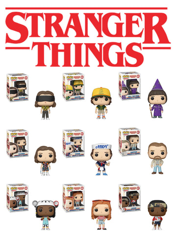 *PRE-ORDER* PoP! TV: Stranger Things Bundle (Set Of 9) COMING SOON