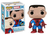 COMIKAZE EXCLUSIVE-PETER PARKER-Marvel Funko PoP!