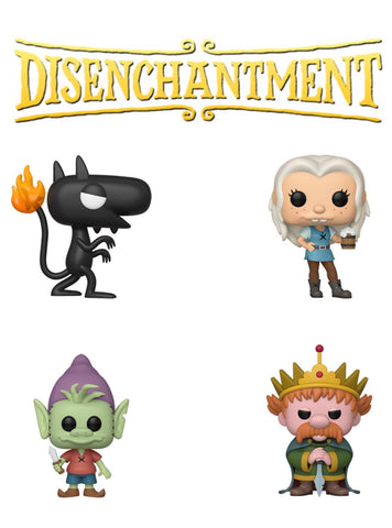 PoP! Animation: Disenchantment Bundle (Set Of 4)