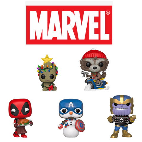 PoP! Marvel Holiday Bundle (Set Of 5)