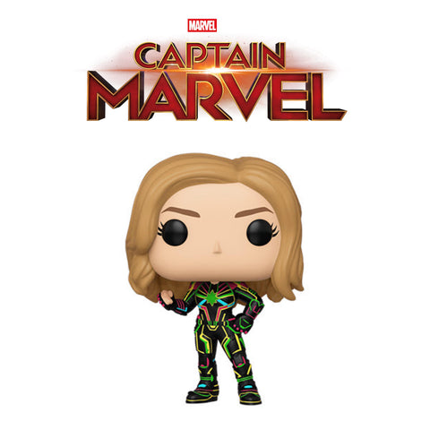 PoP! Marvel: Captain Marvel (Neon Suit) COMING SOON