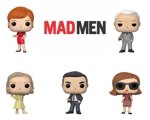 PoP! TV: Mad Men Bundle (Set Of 5)
