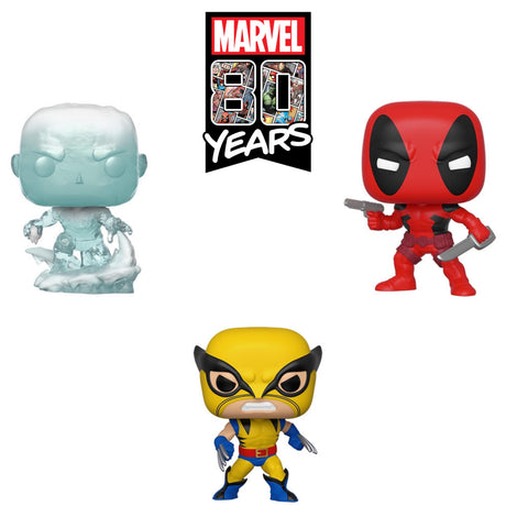 PoP! Marvel: Marvel 80th-First Appearance Bundle (Set Of 3)
