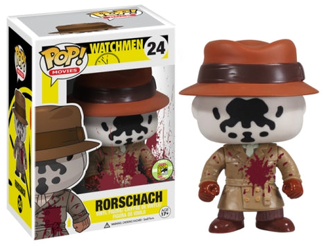 2013 SDCC-LE 480 PCS-BLOODY RORSCHACH-WATCHMEN Funko PoP!