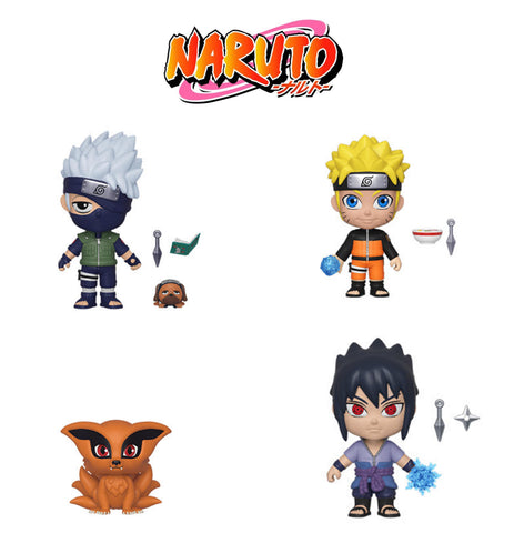 5 Star: Naruto Bundle (Set Of 4)