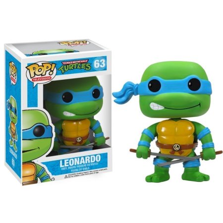 LEONARDO-Teenage Mutant Ninja Turtles Funko PoP!