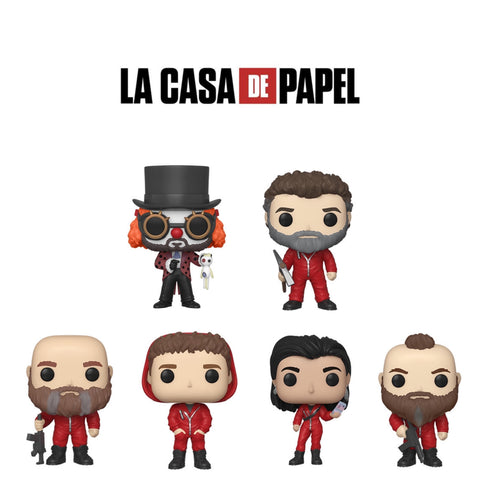 PoP! TV: La Casa de Papel bundle (Set Of 6) COMING SOON