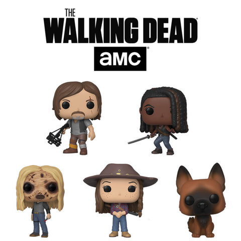 PoP! TV: The Walking Dead bundle (Set Of 5) COMING SOON
