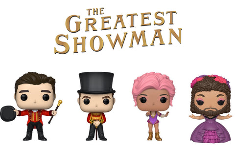 PoP! Movies:  The Greatest Showman bundle (Set Of 4) COMING SOON