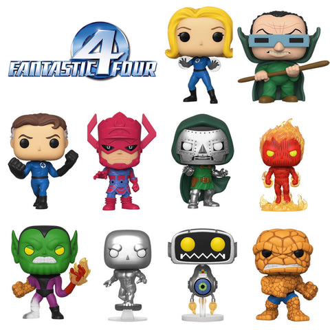 PoP! Marvel: Fantastic Four (Set of 10) COMING SOON