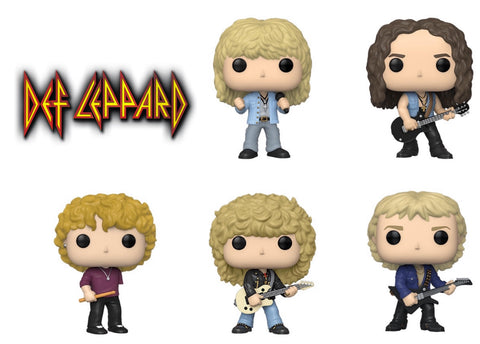 PoP! Rocks: Def Leppard bundle (Set of 5)