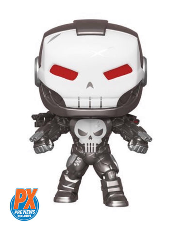 PoP! Marvel: Punisher War Machine- PX Previews Exclusive COMING MAY