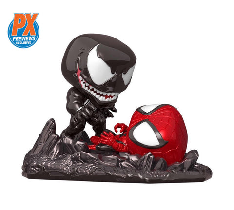 PoP! Marvel: Spider-Man Vs. Venom Movie Moment-PX Previews Exclusive COMING MAY