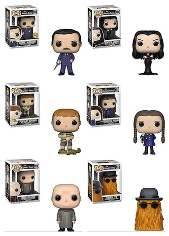 POP! TV: THE ADDAMS FAMILY W/Chase (Set Of 7)